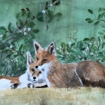 Fran 2 foxesJPG