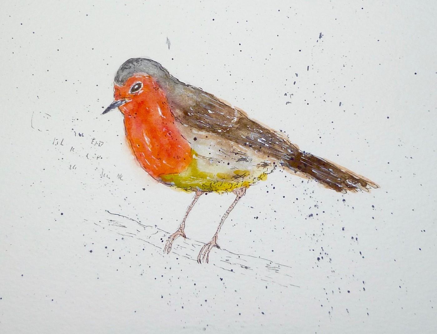 'Christmas Robin'