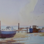 Hythe Boatyard, Southampton Water