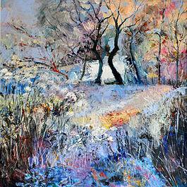 Winter Acrylic 30
